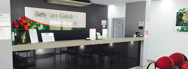 Map. Belgian Gardens Medical Centre. Townsville.